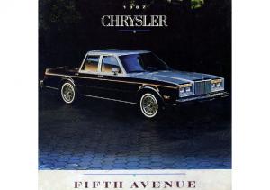 1987 Chrysler Fifth Avenue CN