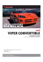 2006 Dodge Viper Convertible