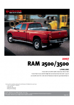 2007 Dodge Ram 2500-3500