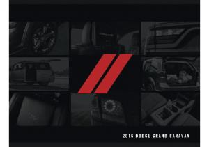 2016 Dodge Dodge Grand Caravan