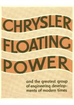 1932 Chrysler Floating Power