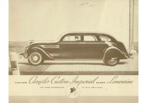 1936 Chrysler Imperial Limo
