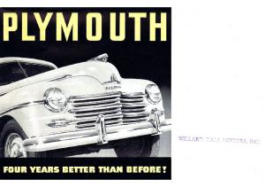 1946 Plymouth Summary