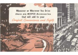 1948 Plymouth Mopar Accessories