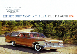 1960 Plymouth Wagons