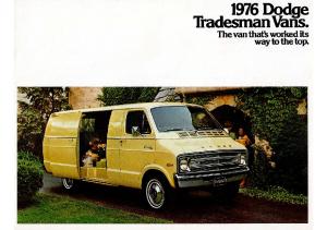 1976 Dodge Tradesman Vans