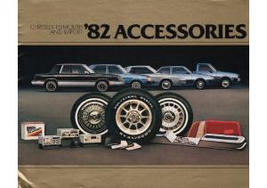 1982 Chrysler Plymouth Accessories
