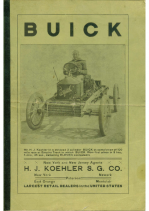 1907 Buick Dealer Catalog