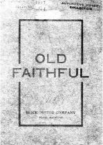 1907 Buick Old Faithful