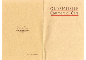 1907 Oldsmobile Commercial Cars