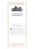 1907 Oldsmobile