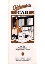 1923 Oldsmobile 43A Cab