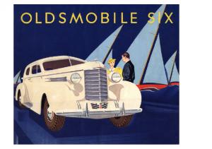 1937 Oldsmobile 6