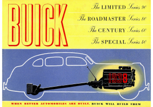 1938 Buick Prestige