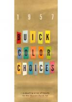 1957 Buick Exterior Colors