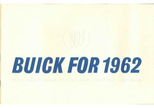 1962 Buick Full Line