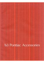 1963 Pontiac Accessories Catalog