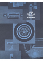 1964 Pontiac Accessories Catalog