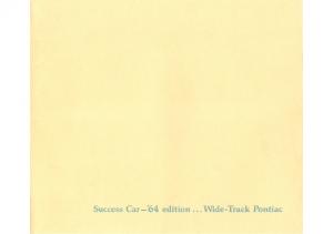 1964 Pontiac Full Line Deluxe