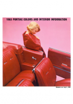 1965 Pontiac Exterior Colors