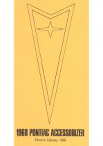 1968 Pontiac Pocket Accessorizer Catalog