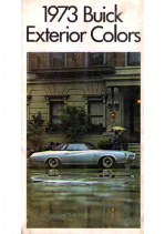 1973 Buick Exterior Colors Chart