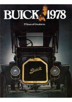 1978 Buick Full Line Prestige