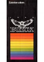 1982 Buick Exterior Colors Chart