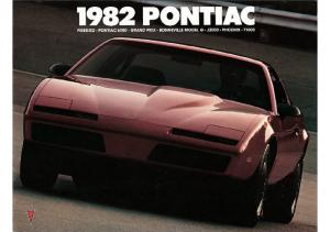 1982 Pontiac Full Line