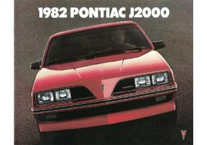 1982 Pontiac J2000