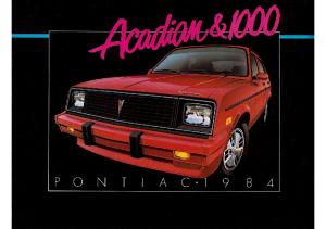 1984 Pontiac 1000 CN