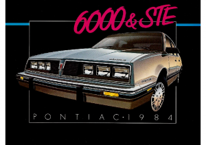 1984 Pontiac 6000 CN