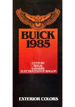 1985 Buick Exterior Colors Century-Regal-Lasbre-Electra Wagon