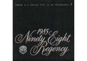 1985 Oldsmobile 98 Regency