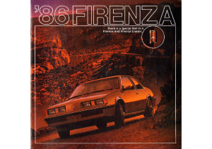 1986 Oldsmobile Firenza