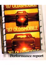 1987 Oldsmobile Performance