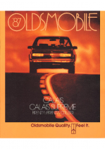 1987 Oldsmobile Small Size