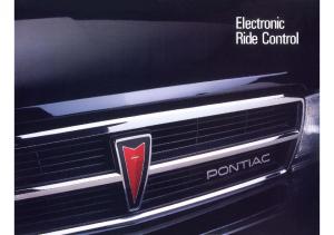 1987 Pontiac Delco Electonic Ride Control