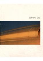 1987 Pontiac Full Line Prestige