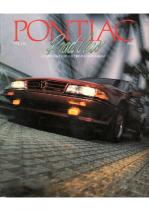 1988 Pontiac Full Line Prestige