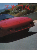 1988 Pontiac Full Line