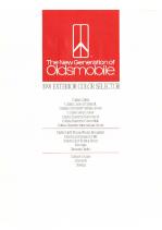 1991 Oldsmobile Exterior Colors