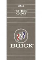 1992 Buick Exterior Colors