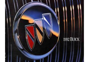 1992 Buick Full Line Prestige