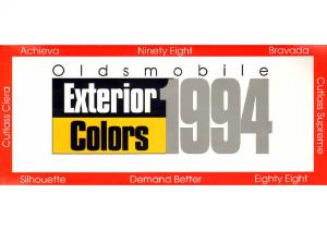 1994 Oldsmobile Exterior Colors