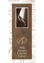 1996 Oldsmobile Aurora Colors