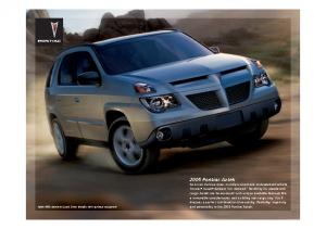 2005 Pontiac Aztek Web
