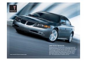 2005 Pontiac Bonnieville