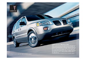 2005 Pontiac Montana SV6 Web