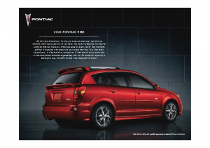 2006 Pontiac Vibe Web
